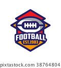球 足球 商標 38764804