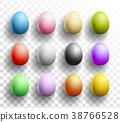 easter, egg, vector 38766528