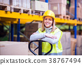 woman young worker 38767494