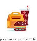 burger food vector 38768162