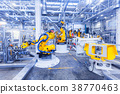 robots in a car plant 38770463