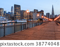 San Francisco Skyline and Reflections 38774048