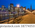 San Francisco Skyline and Boardwalk 38774050