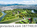 Goryokaku Park (view from Goryokaku Tower) Hakodate City, Hokkaido *Photo taken in October 2017 38774819