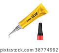 glue tube metal 38774992