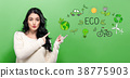 Eco with young woman 38775903