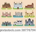 vector, castle, cartoon 38776794