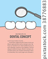 Layout decay tooth check up illustration vector 38776883