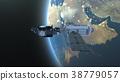 人造衛星 空間 宇宙的 38779057