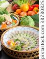 河豚 煮河豚 日式料理 38780825
