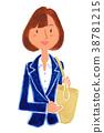 大學生 找工作 一個年輕成年女性 38781215