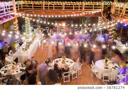 Wedding Reception Dancing Long Exposure - Stock Photo [38781274 ...