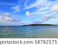 오키나와, 바다, 리조트 38782575