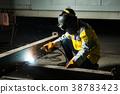 Welder in factory 38783423