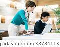 สำนักงาน,ที่ทำงาน,ออฟฟิศ 38784113