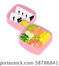 便当 午餐盒 便当盒 38786841
