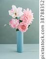 Crepe paper flower bouquet 38788352