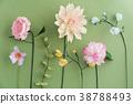 Crepe paper flowers 38788493
