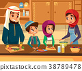 arab, family, cooking 38789478