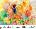 Splatters, splinter, blotches, blots and blobs 38789845