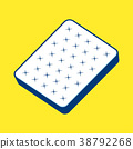 plain white mattress. 38792268