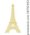 에펠 탑 38792402