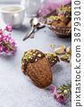 Homemade chocolate cookies Madeleine 38793010