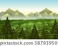 scene, landscape, pine 38793950