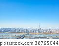【도쿄】 도시 풍경 38795044