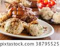 pork knuckle sauerkraut 38795525