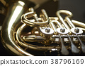 moody detail of french horn 38796169