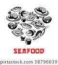 sushi japanese vector 38796639
