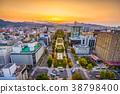 Sapporo, Japan Cityscape 38798400