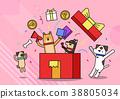 插图 动物 购物 38805034