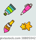 icon education illustration 38805042