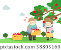 Illustration for the Society of Sharing Love, the most beautiful ways we can help others it shows the spirit of sharing. 003 38805169