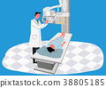 Illustration for a full medical examination, have regular checkups for your health. 012 38805185