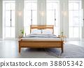침대, 침실, 이부자리 38805342