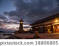 히로시마 현 도모 노우 라 전력 만 선박 계류 돌 간기 38806805