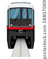 โมโนเรล,รถไฟ,พาหนะ 38807069