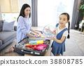 家,家庭,媽媽,女兒,韓國人 38808785