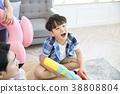 家庭,兒子,男孩,韓國人 38808804