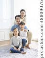 가족, 거실, 어린이 38809076
