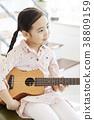 房子,生活,兒童,女孩,韓國 38809159