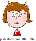 ผู้หญิงที่กอดอกด้วยการปรากฏตัวของปีศาจ 38809963