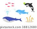 海洋動物 海洋 魚 38812680