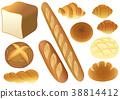 面包 法棍面包 白面包 38814412