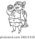 burger fat man 38815438