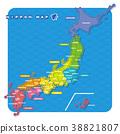 แผนที่ประเทศญี่ปุ่น,แผนที่ญี่ปุ่น,ประเทศญี่ปุ่น 38821807