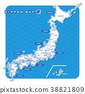 แผนที่ประเทศญี่ปุ่น,แผนที่ญี่ปุ่น,ประเทศญี่ปุ่น 38821809